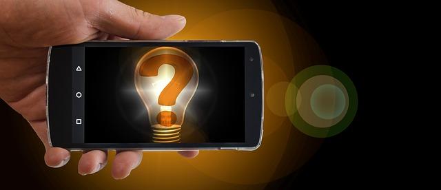 žárovka v mobilu