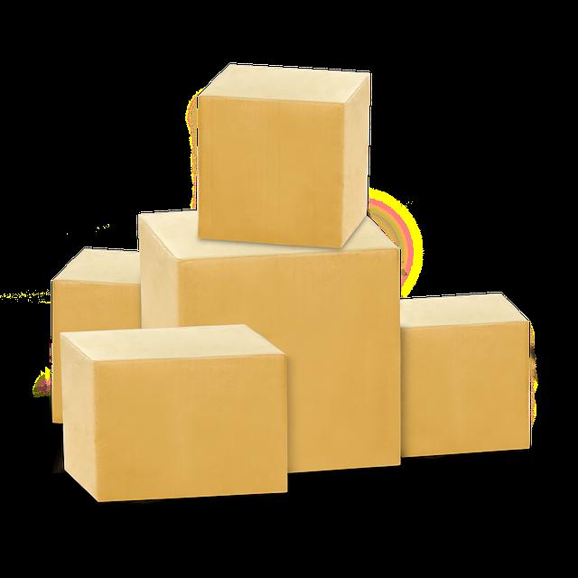 pět balíků