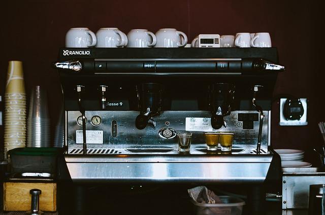 kávovar restaurace