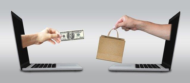 obchod přes počítač